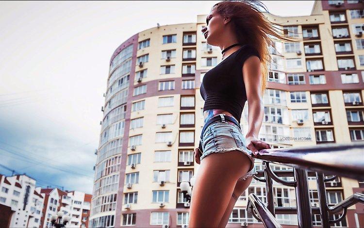 the city, ass, shorts
