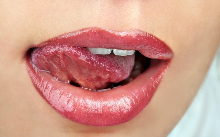 девушка, модель, губы, лицо, язык, рот, помада, girl, model, lips, face, language, mouth, lipstick