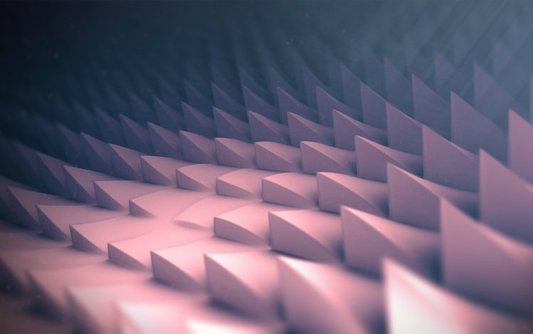 цвет, форма, шипы, 3д, color, form, spikes, 3d