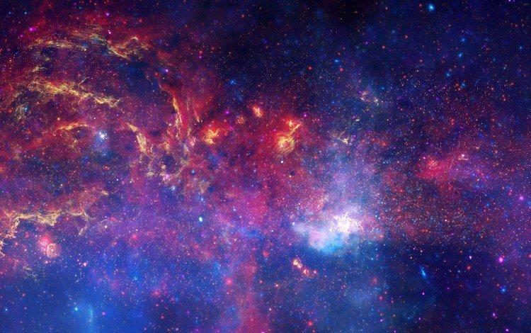 космос, звезды, галактика, туманность, млечный путь, space, stars, galaxy, nebula, the milky way
