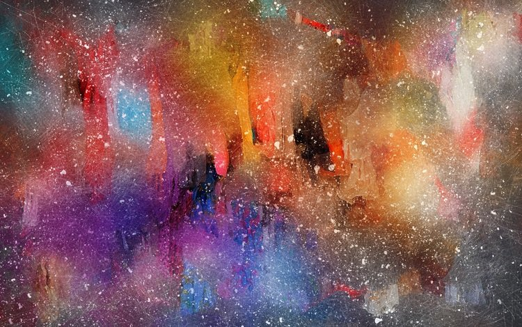 абстракция, разноцветные, краски, пятна, размытость, акварель, abstraction, colorful, paint, spot, blur, watercolor