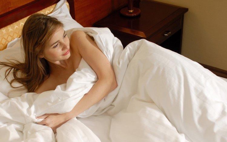 девушка, irma b, взгляд, волосы, лицо, кровать, одеяло, аня, ирина буромских, girl, look, hair, face, bed, blanket, anya, irina muromsky