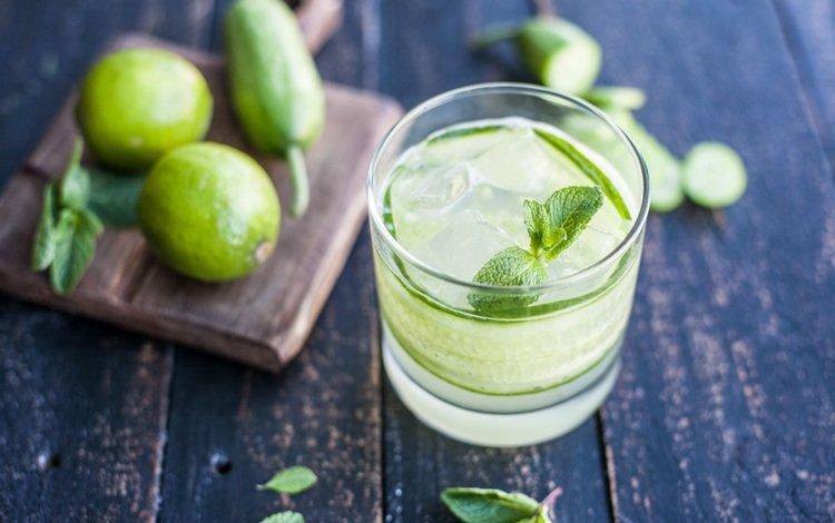 мята, напиток, лёд, лайм, коктейль, цитрус, мохито, мохито-=, mint, drink, ice, lime, cocktail, citrus, mojito