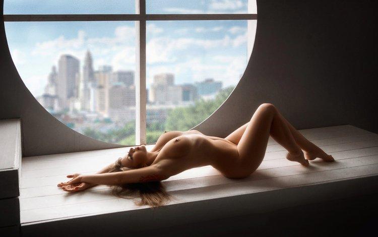 девушка, поза, модель, окно, girl, pose, model, window