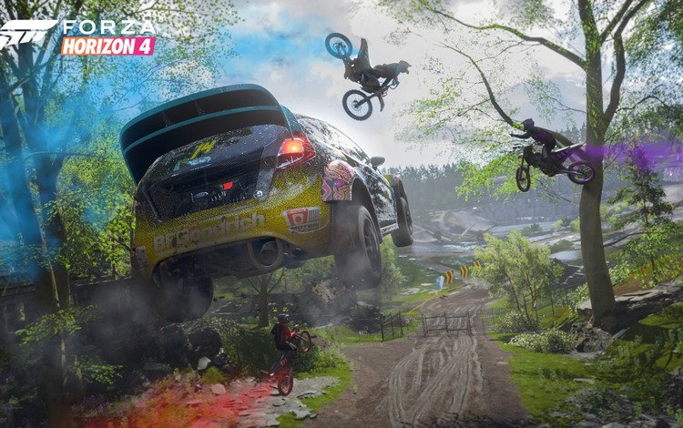 fiesta, 2018, rally, microsoft, ford, game, e3 2018, forza horizon 4