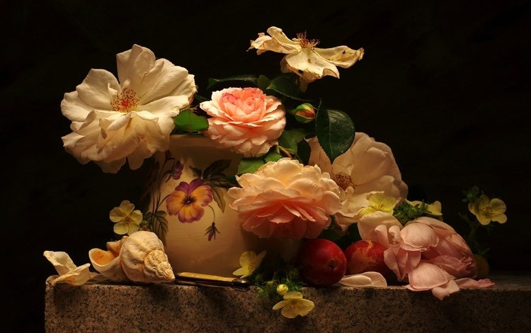 букет, натюрморт, роз, bouquet, still life, roses