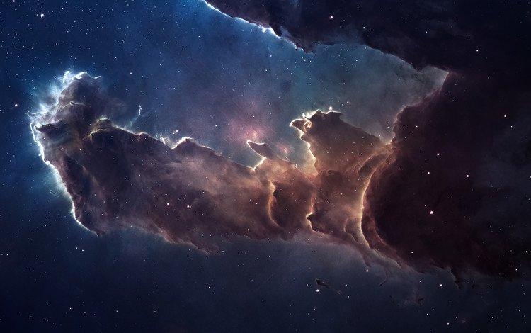 stars, nebula, snakes, space, constellation, the eagle nebula