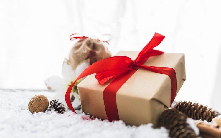 новый год, лента, подарок, праздник, рождество, шишки, valeria aksakova, new year, tape, gift, holiday, christmas, bumps
