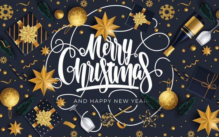 новый год, черный фон, праздник, рождество, открытка, новый род, новогодный год, new year, black background, holiday, christmas, postcard, a new genus, new year's year