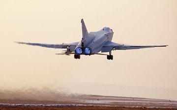 sunset, the plane, the rise, tu-22m3, backfire