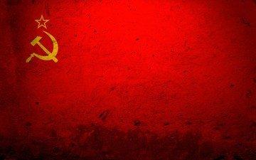 ссср, красный, флаг