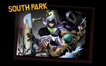 мистерион, супер герой, комикс, южный парк