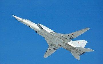 небо, самолет, полет, ту-22м3, backfire