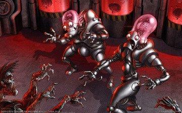 зомби, инопланетянин, мозг, michael dashow - brainbots