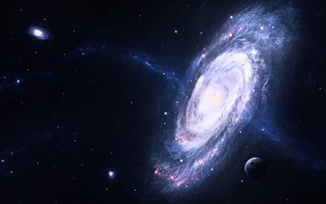 звезды, галактики, galaxies, planets, космическая, звезд