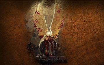 крылья, доспехи, warhammer