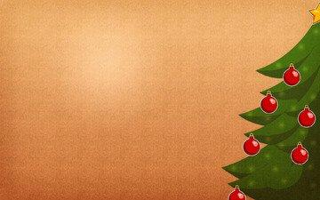 арт, новый год, елка, шары, игрушка, шарики, креатив, ель, елки, игрушки, новогодние обои, праздники, праздничные обои, ели, с новым годом