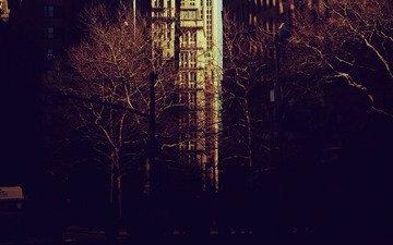 деревья, настроение, парк, города, город, обои на рабочий стол, нью-йорк, ny, картинки для рабочего стола, нью - йорк