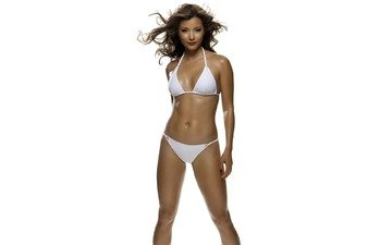 white, swimsuit, tan, kelly hu, aside