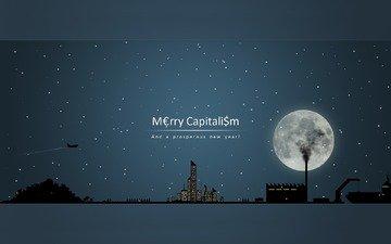 рисунок, капитализм, поздравление