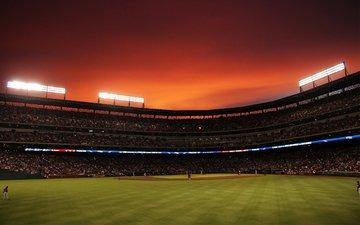 сша, rangers ballpark, стадион, техас