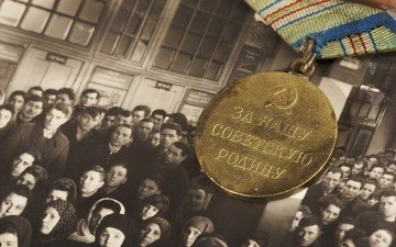 photo, victory day, award, medal, may 9