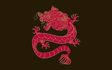 дракон, китай, орнамент