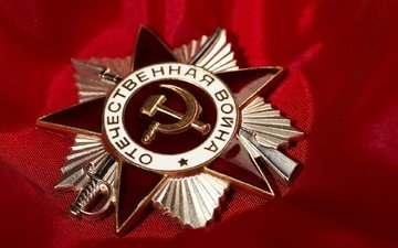 red, victory day, awards, order of the patriotic war, may 9