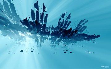 синий, усилитель, lost spaceship