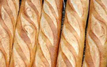 булки, хлеб, багет