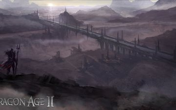 мост, земли, conceptart, драгон эйдж 2