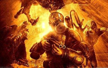 огонь, метро 2033, мутанты, a4games, thq