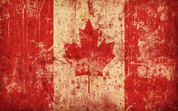 flag, canada, maple leaf