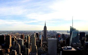 фото, вид, города, америка, дома, сша, нью-йорк, нью - йорк