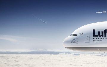 самолет, авиация, боинг, а 380
