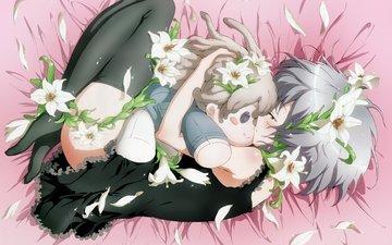 petals, doll, heat, tenderness, feelings
