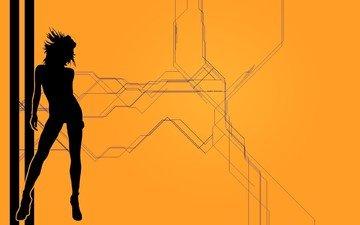 girl, background, wallpaper, woman