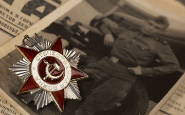 photo, star, victory day, award, newspaper, may 9