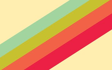 зелёный, полоски, радуга, красный, голубой, оранжевый