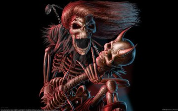 гитара, музыка, рок, концерт, музыкант, наскальные