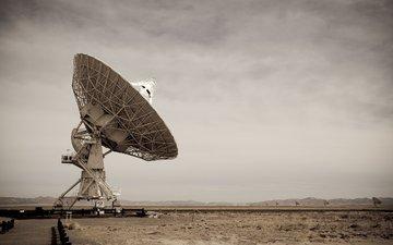 небо, астрономия, антенна, нью-мексико, технология
