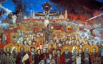 илья глазунов, вечная россия, 1988г