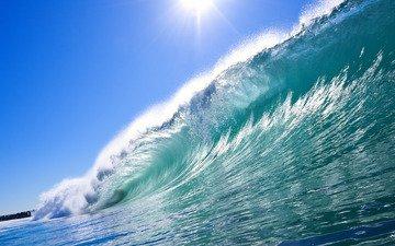 вода, природа, волны, фото, море, пейзажи, лето, брызги, океан