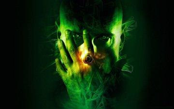 зелёный, мужик, command & conquer, перстень