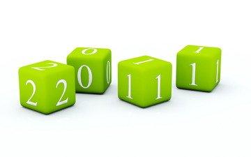 цифры, кубы, 2011 год