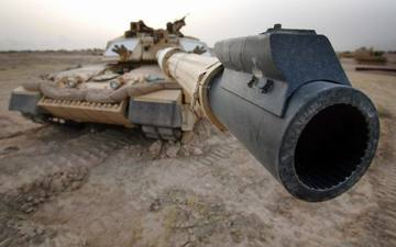 война, танк, дуло