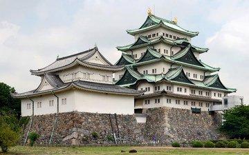 япония, японии, nagoya castle, замок нагоя