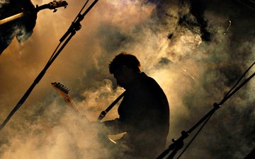 guitar, music, concert