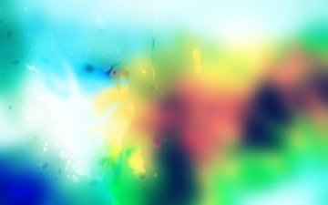 цвета, капли, размытость