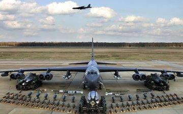 самолет, оружие, бомбардировщик, техника